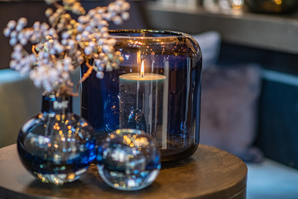 DutZ_glass_mazurka_cugat_hoola_blue_candle_navyblue_1